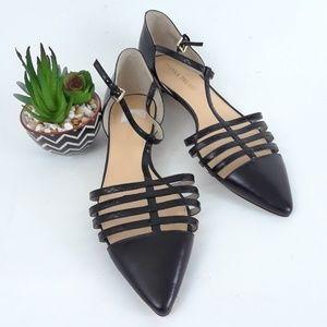 Ivanka Trump Shoes Ittoey  T- Strap Pointy Toe